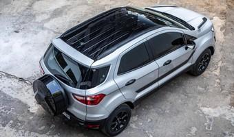 Ford EcoSport Black 1