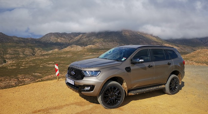 Ford Everest Sport 8