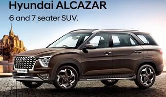 Hyundai Alcazar Front