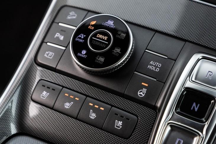 Hyundai Santa Fe drive modes