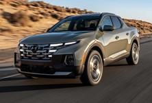 2022 Hyundai Santa Cruz Front Angle