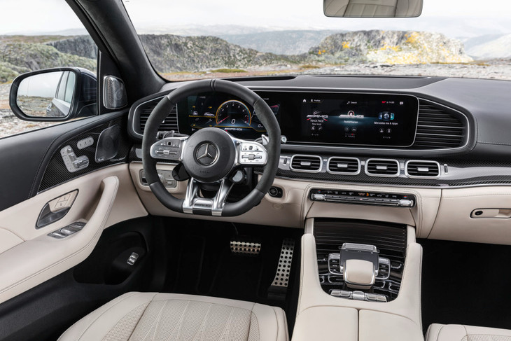 Mercedes-AMG GLE 63 Interior