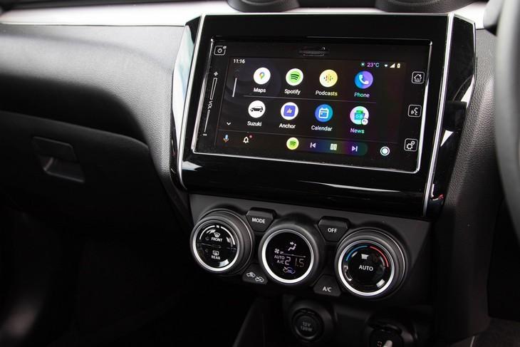 Suzuki-Swift-Android-Auto