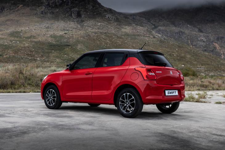 Suzuki-Swift rear