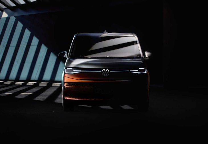 2022 Volkswagen T7 Multivan Teaser1