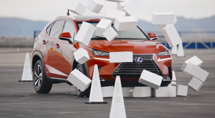 Lexus Driving Disrupted