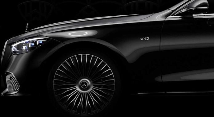 Mercedes Maybach S Class V12 Teaser