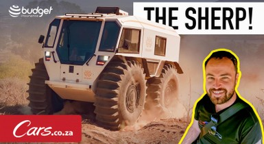 The Sherp! The craziest 4x4 ever made? (Wait, does this thing float?)