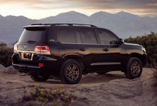 2021 Toyota Land Cruiser Rear Side