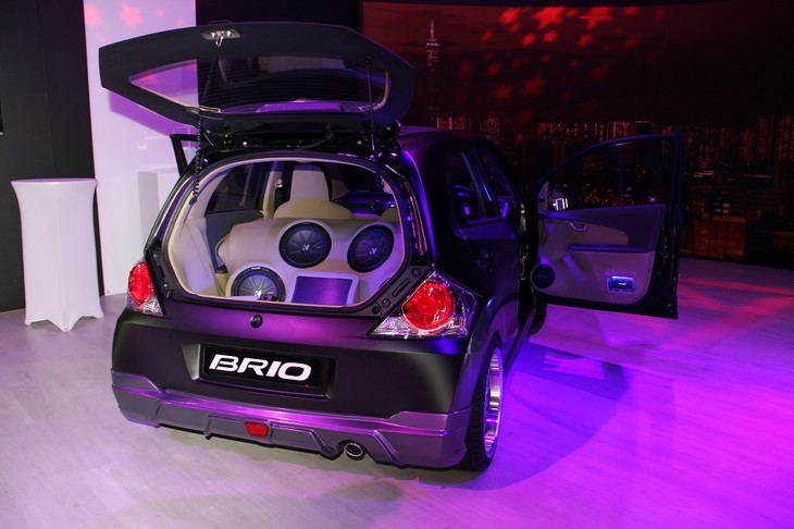 Honda Brio Club Brio Back