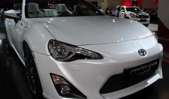 Toyota 86 Convertible Front