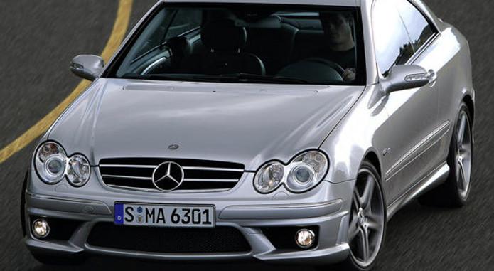 Mercedes Benz CLK63 AMG 2006