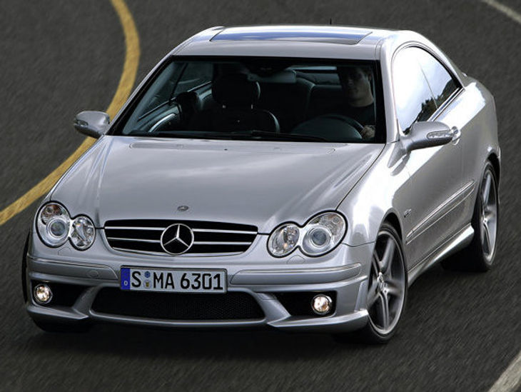 Mercedes-Benz CLK63 AMG (2006) Driving Impression - Cars co za