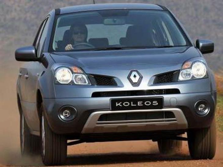 renault koleos 2.0 dci 4x4 dynamique premium driving impression