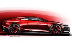 Audi Quattro Concept For Frankfurt 2