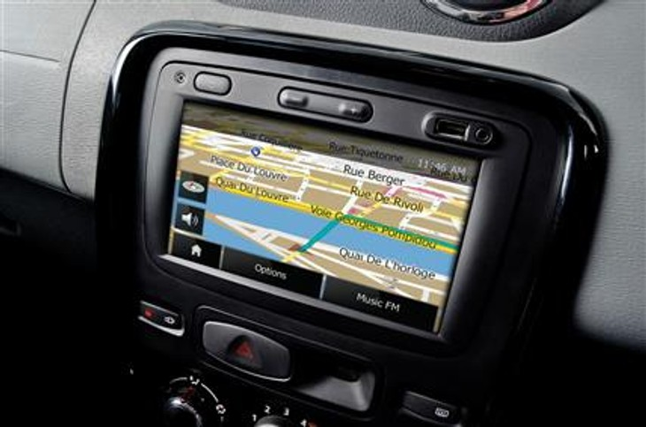 Renault Duster touch screen