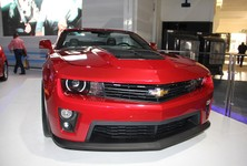 Chevrolet Camaro Convertible Front View