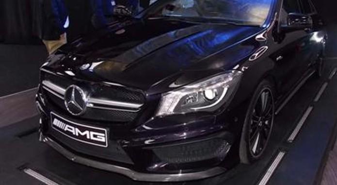 Mercedes Benz CLA 4 Custom