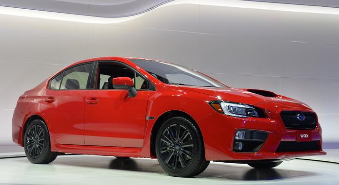 2015 Subaru WRX 5