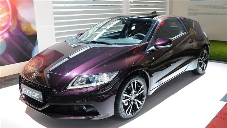 The Honda CR-Z CVT Automatic Sports Hybrid Offers 'A More
