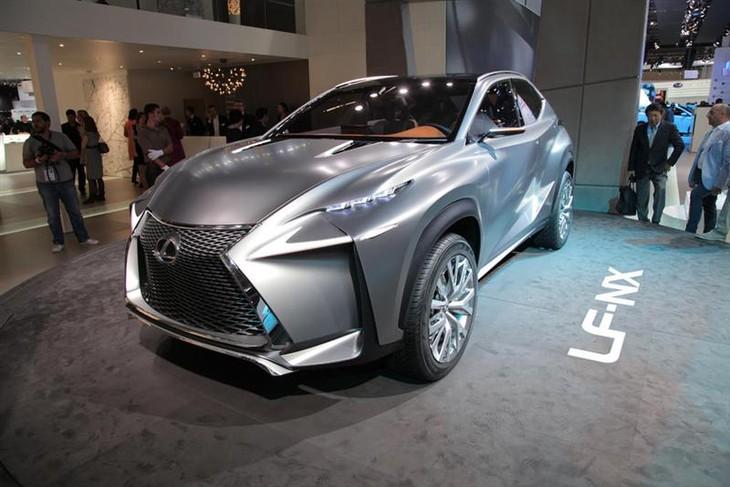 Lexus Lf Nx >> Lexus Lf Nx Concept Previews A Production Crossover Model