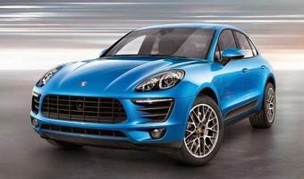 Porsche Macan S 2014 Front Side