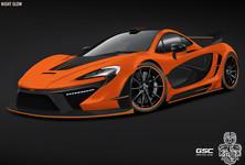 GSC McLaren P1 Night Glow 1