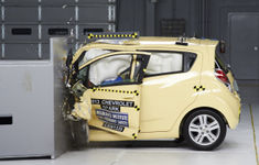 Chevrolet Spark Car Crash Results