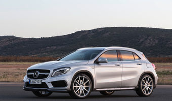2014 Mercedes Benz GLA 45 AMG 5