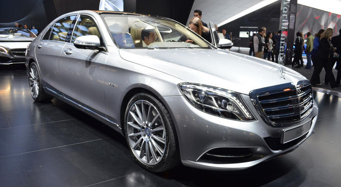 2015 Mercedes Benz S600 2