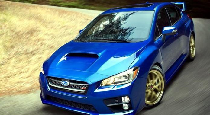 2015 Subaru WRX STI 1