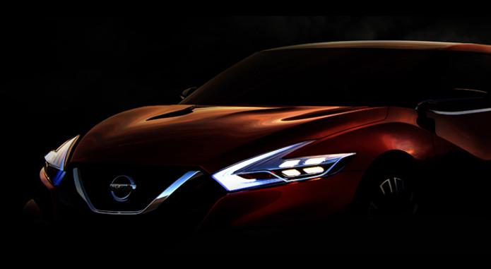 Nissan Sport Sedan Teaser