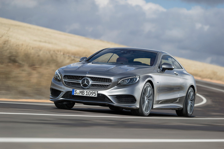 2015 Mercedes Benz S Class Coupe 1