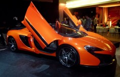 Rare Moment At Launch When The 650S Was Not Swamped By Guests