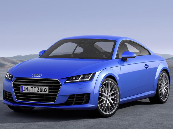 Audi TT Coupe Officially Revealed Carscoza - Audi tt coupe