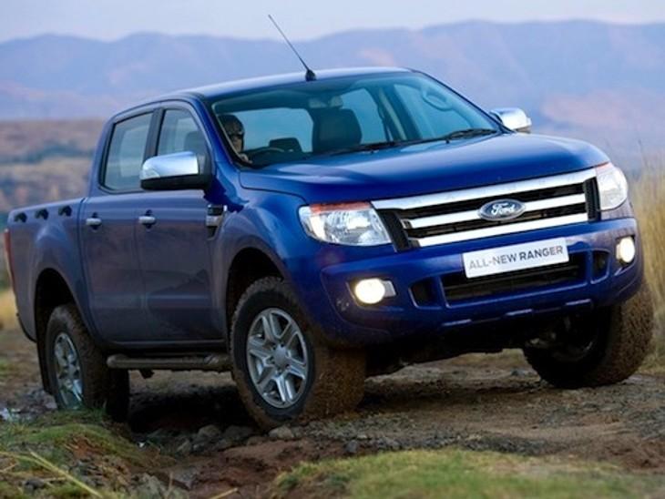 Ford Ranger New February 2013