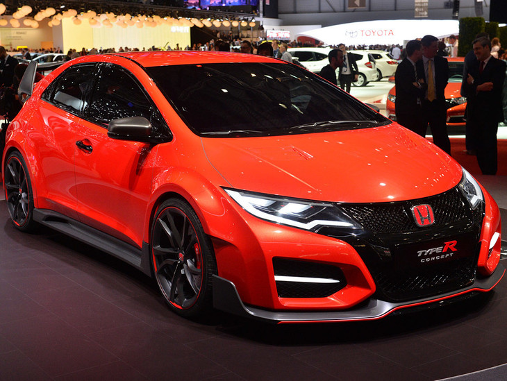 Honda Civic Type R Concept Revealed Official Images Cars