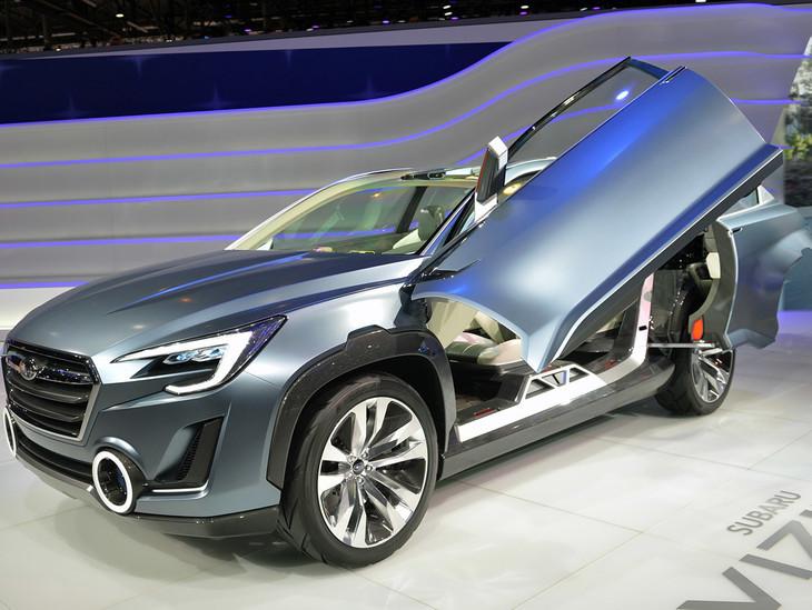 Subaru Viziv 2 Concept Previews Future Generation Crossover Cars