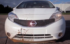 Nissan Self Cleaning Car Prototype