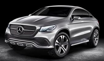 Mercedes Benz Coupe Concep Teaser