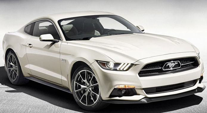 Ford Mustang 50 Year Limited 2