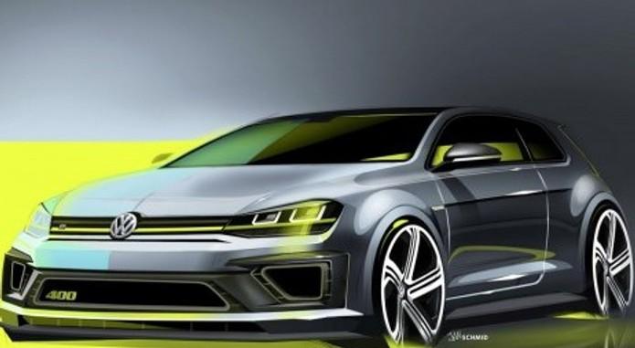 Golf R 400 Concept