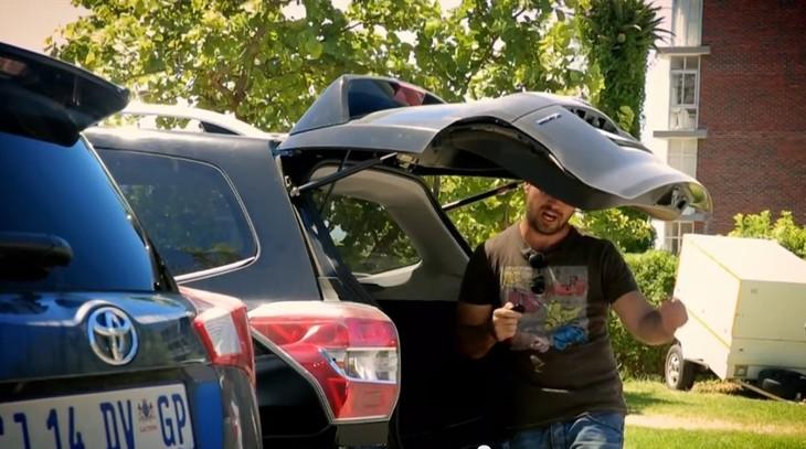 Ciro Fights Off A Subarus Tailgate