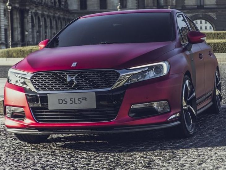 Citroen Ds 5ls R Concept Revealed Cars