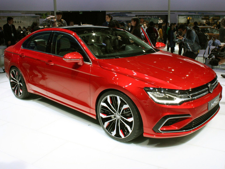 Volkswagens New Midsize Coupe Concept Shown In Beijing Cars