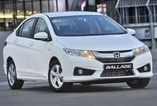 2014 Honda Ballade Front View