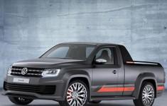 Volkswagen Amarok Power Concept Front View