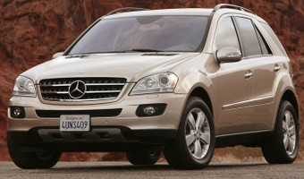 2006 Mercedes Benz ML500 7G Tronic
