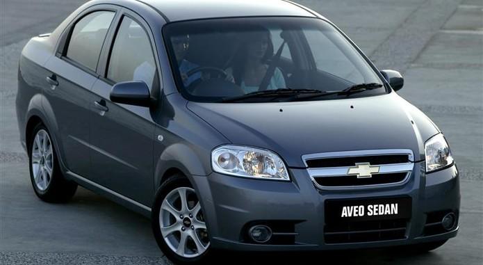 Chevrolet Aveo LT Sedan 20061