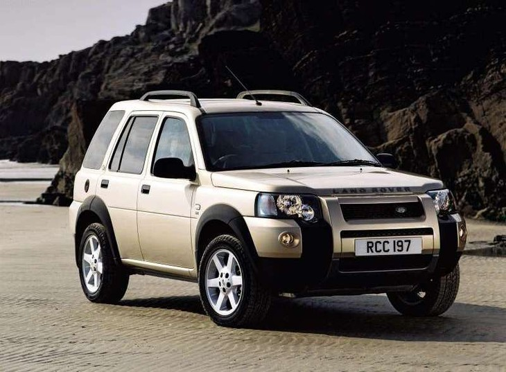 Land Rover Freelander TD4 HSE A/T (2004) Driving Impression